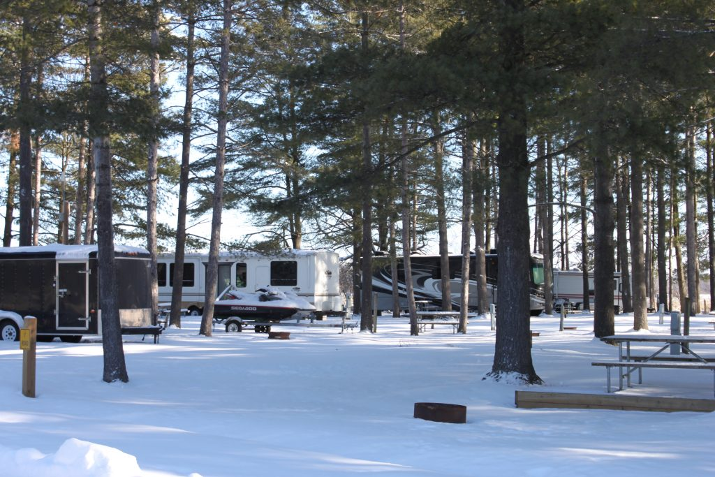 Cardinal/Ottawa South KOA Campground Winter Wonderland